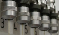 Tool changer holds up to 16 electrodes in four different sizes for true lights out hole drilling.