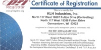 ISO9001 & AS9100 Certificate