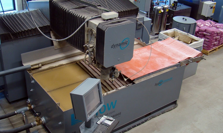 Waterjet Cutting Services | Waterjet Machining Services | KLH
